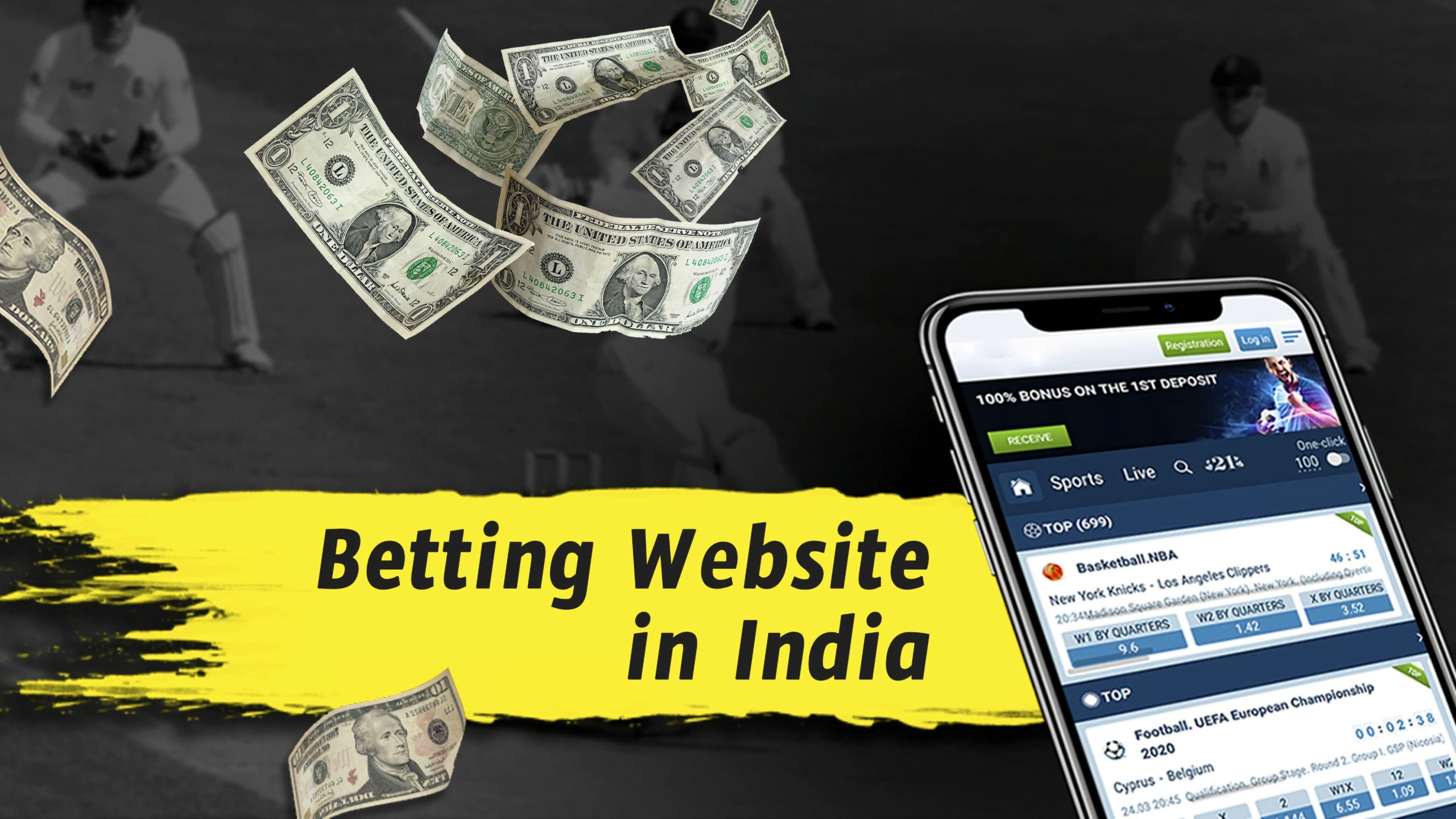 Bookmaker betting sites in India