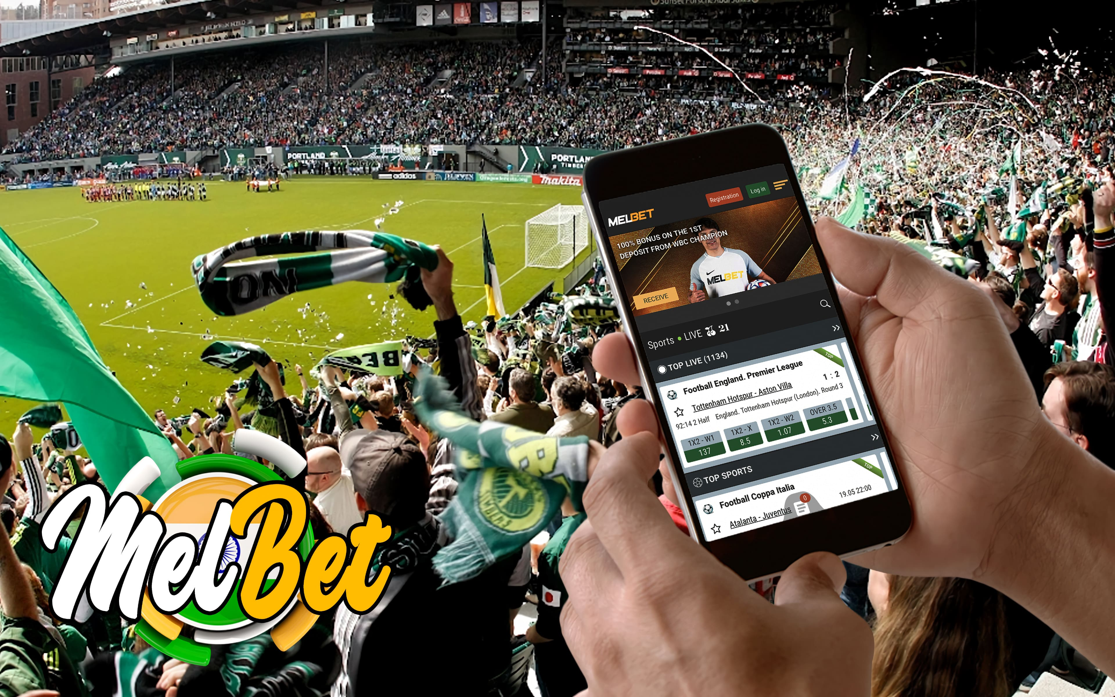 Sports betting with Melbet