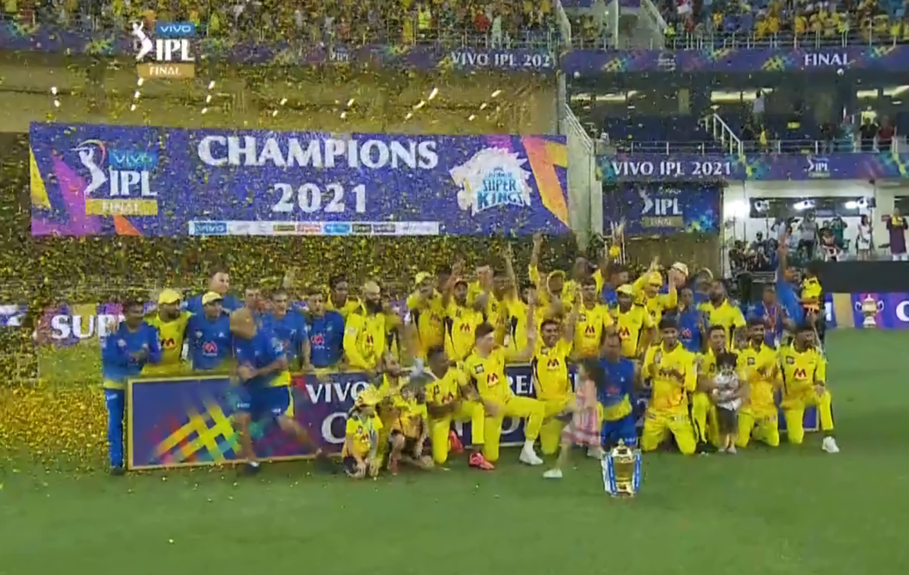 Chennai win IPL 2021